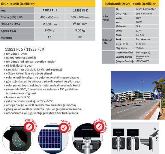 solar ikaz flaşörü