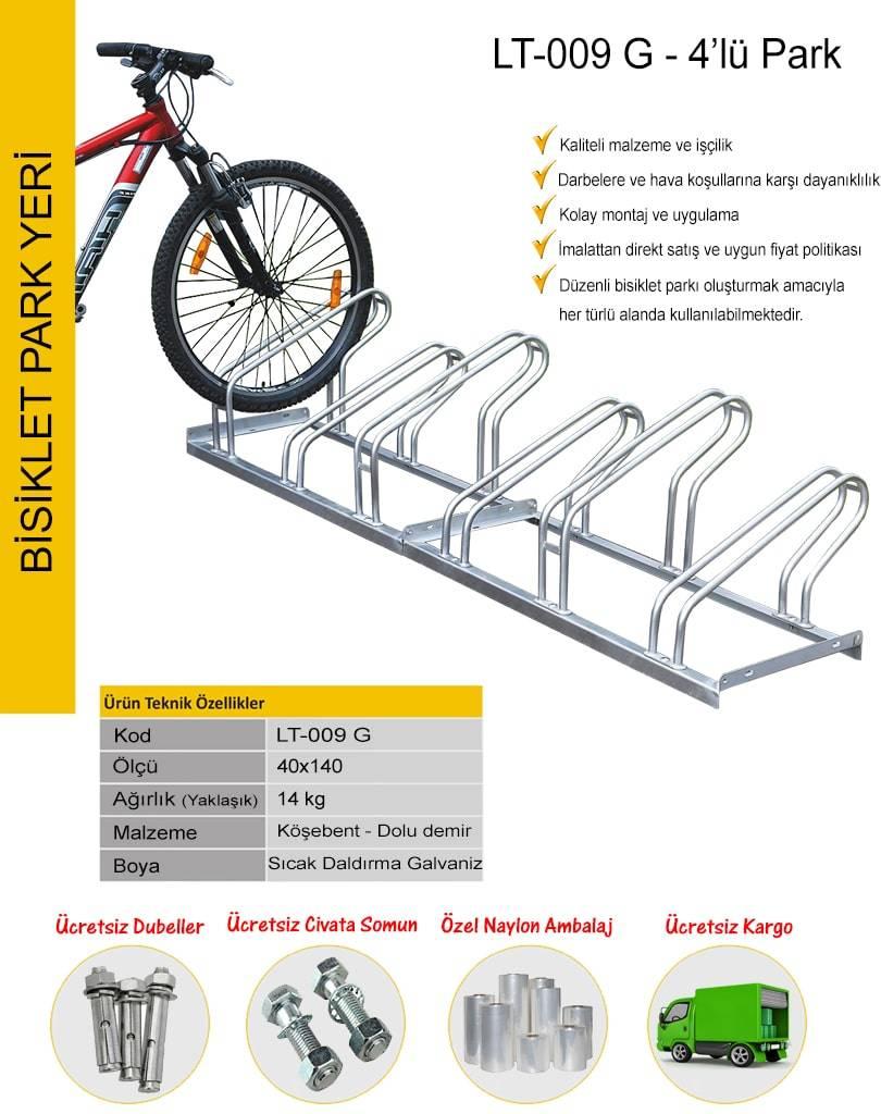 bisiklet park ölçüleri