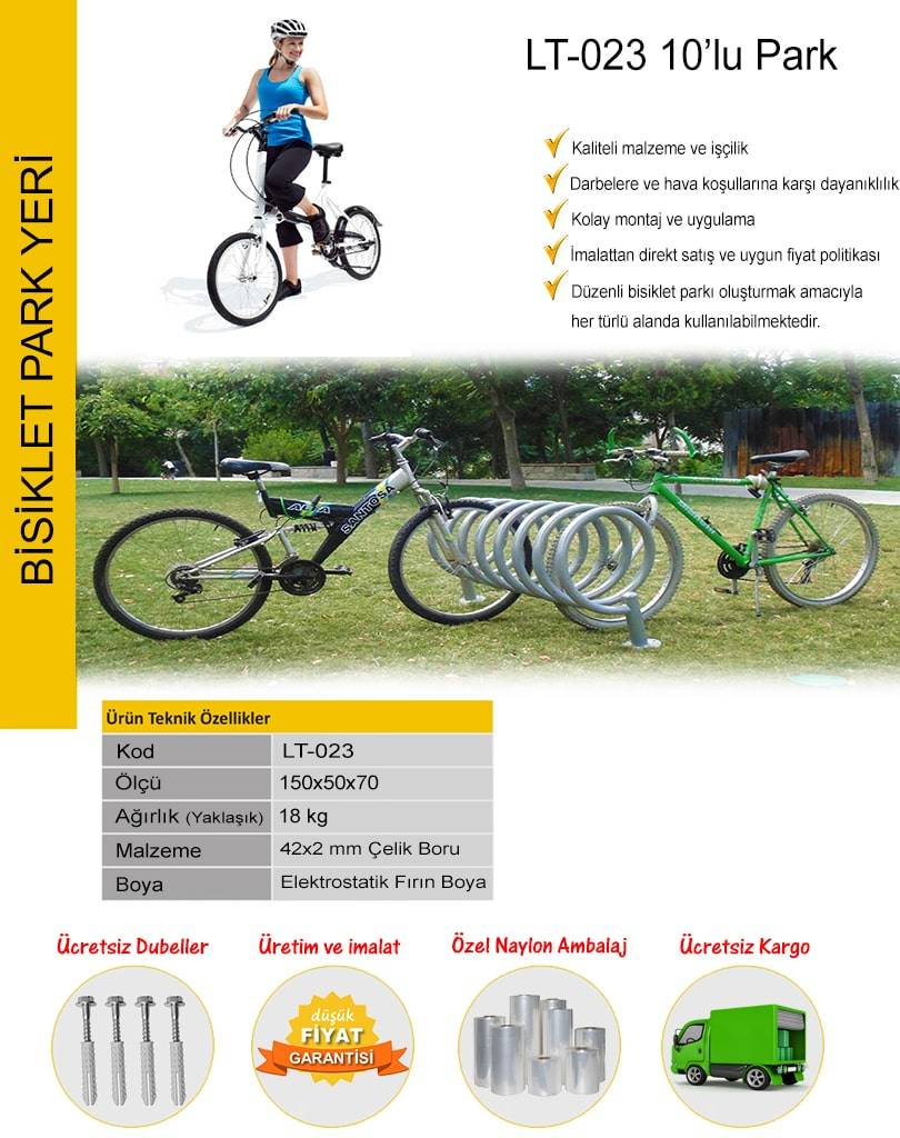 bisiklet park demiri
