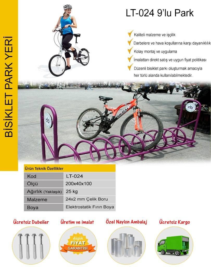 bisiklet park demirleri