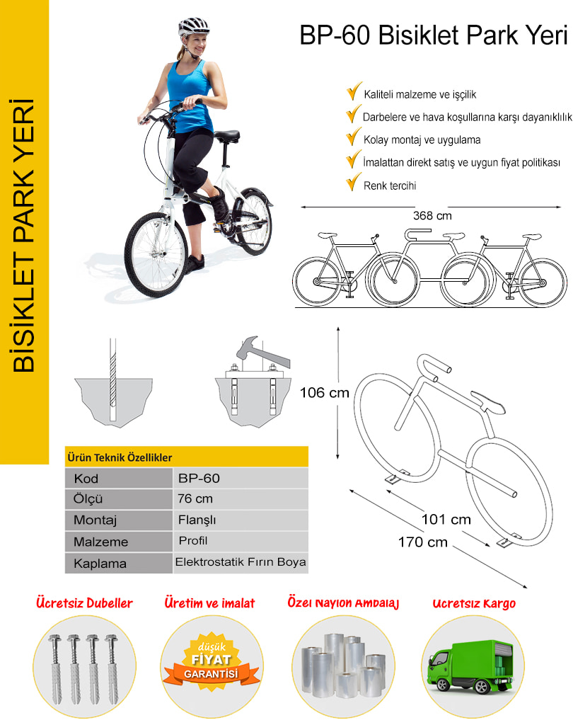 bisiklet koyma aparatı