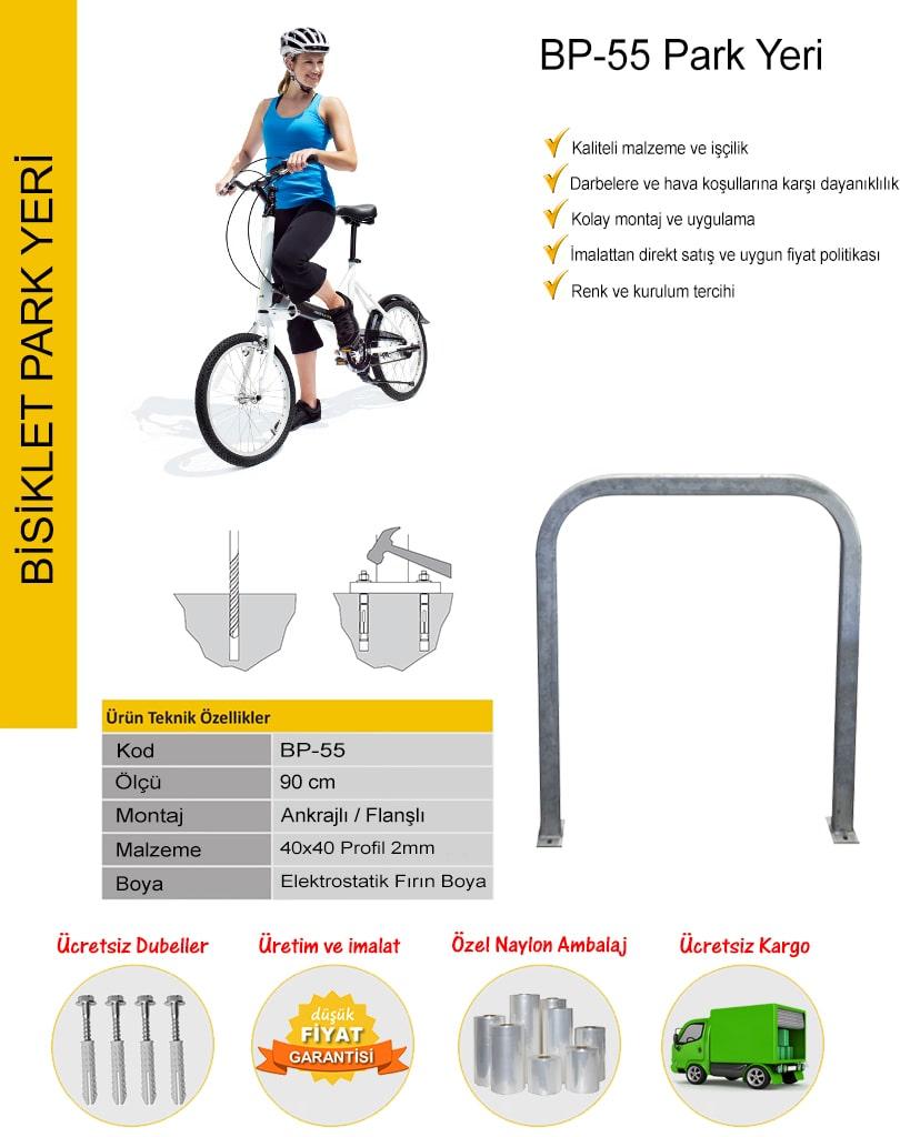 bisiklet parkı imalatı