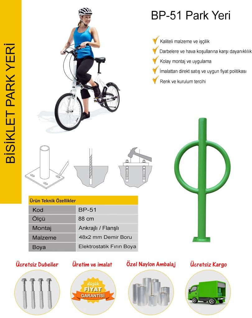 bisiklet park yeri ölçüleri