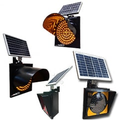 Güneş Enerjili Ledli Flaşörler