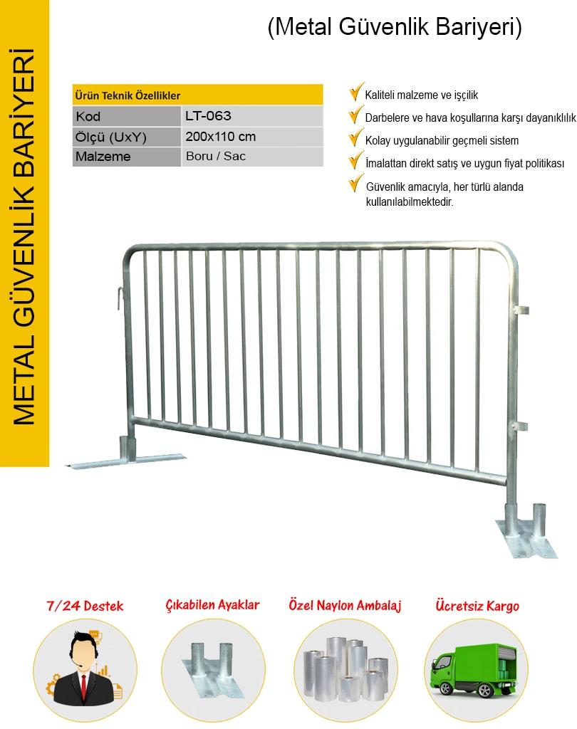 güvenlik barikatı