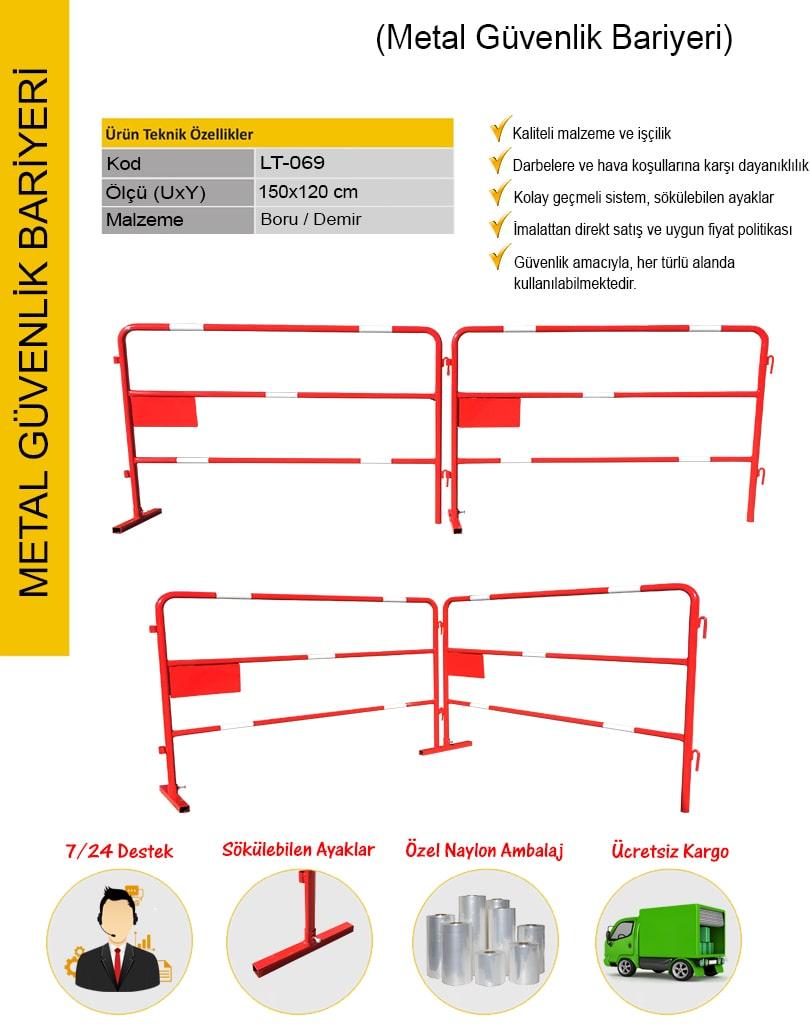 metal güvenlik bariyeri fiyatları