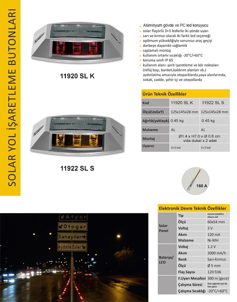 güneş enerjili yol butonu fiyatları