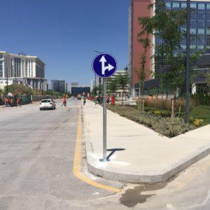 ankara şehir hastanesi trafik yönlendirme tabelası trafik levhası üretimi imalatı ilgi trafik sistemleri ankara
