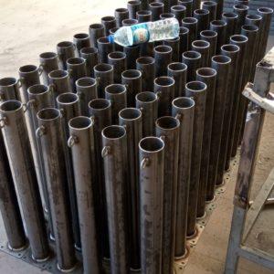 sabit park bariyeri imalatı demir delinatör duba metal delinatör otopark demir bariyer kaldırım dubası metal duba yol bariyeri flanşlı sabit bariyer