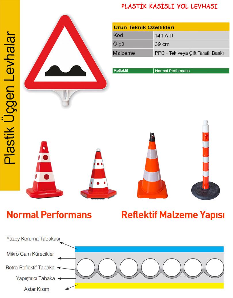 kasisli yol trafik levhası