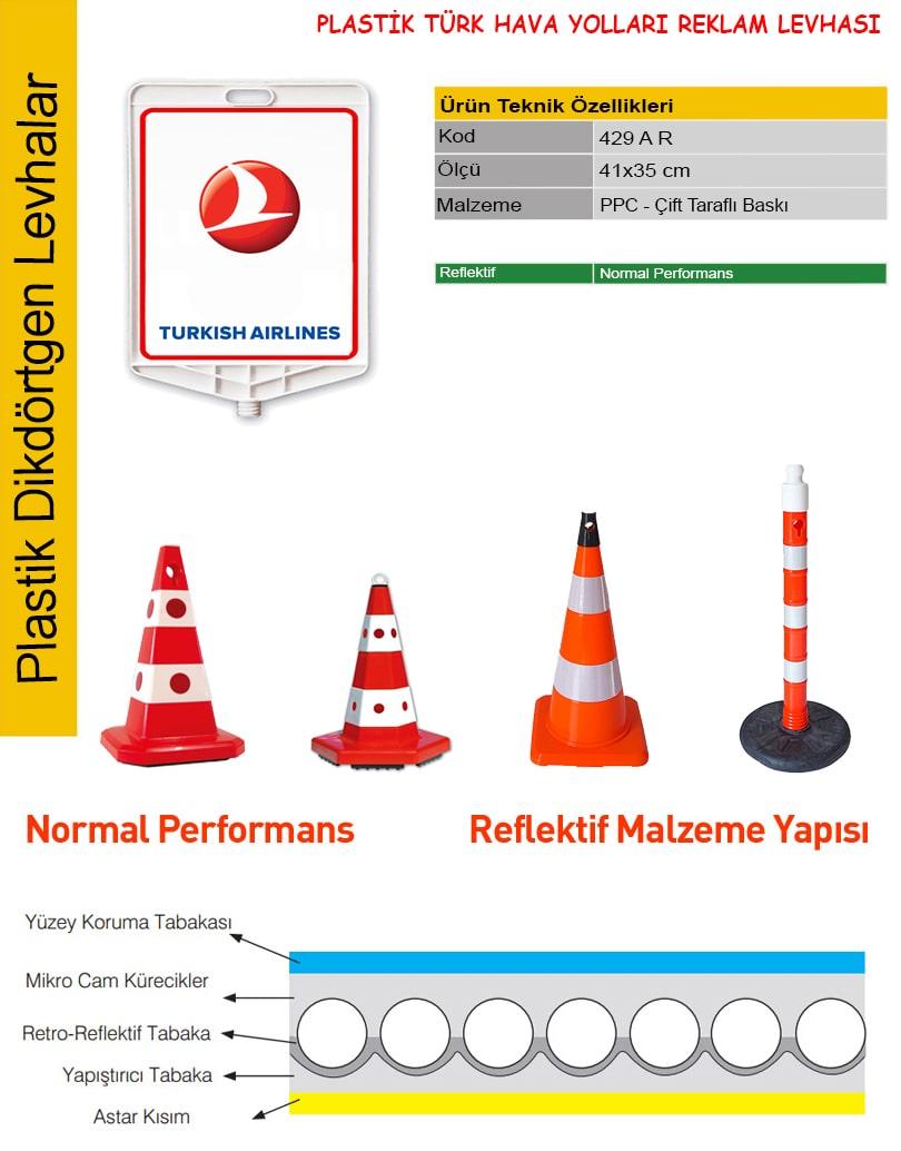 türk hava yolları tabela