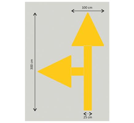 yapışkanlı uyarı işaretleri