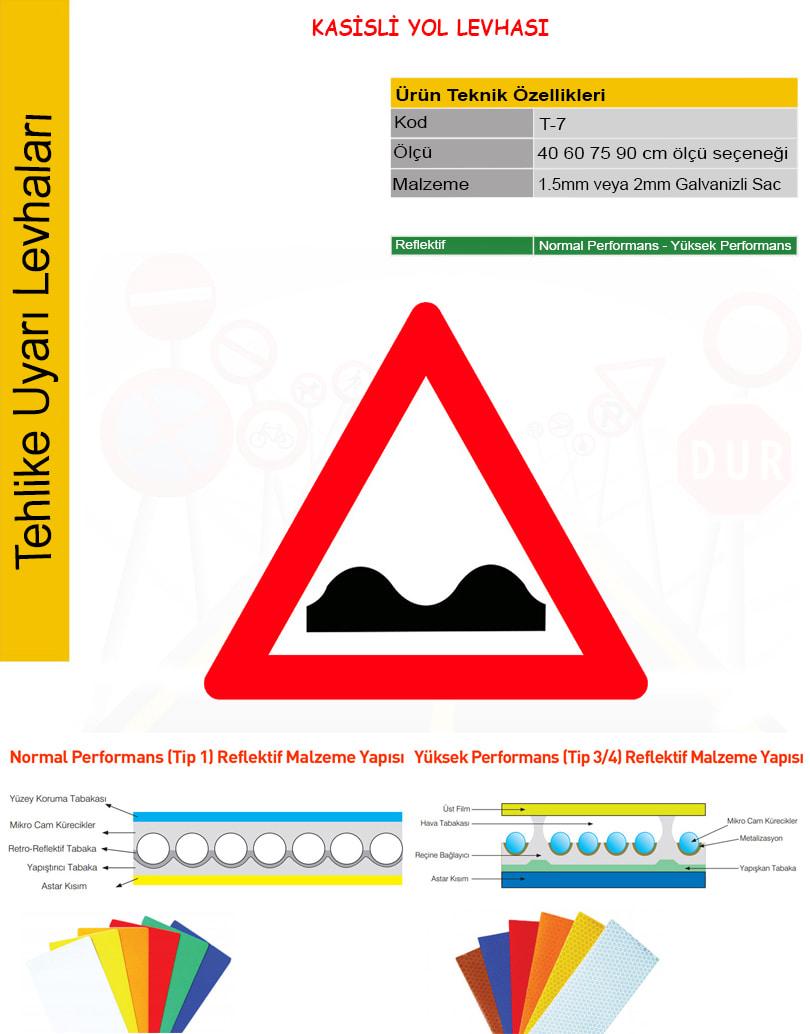 kasisli yol tabelası