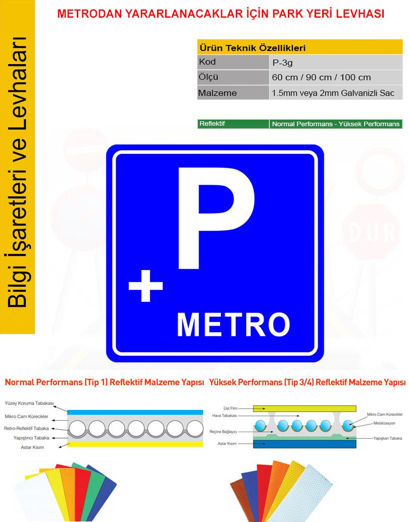 park yeri tabelası
