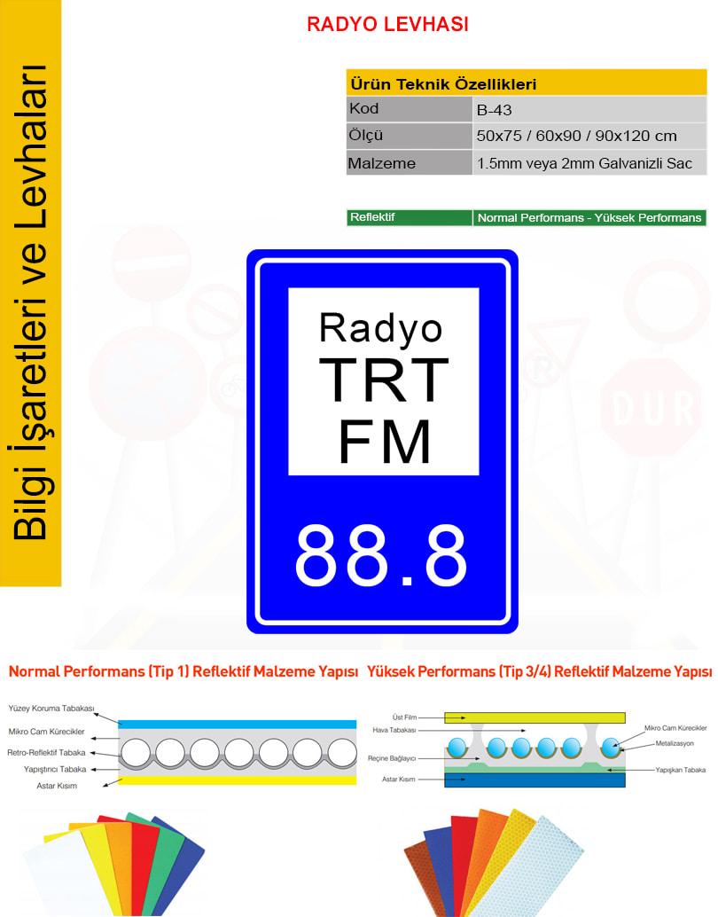radyo levhası
