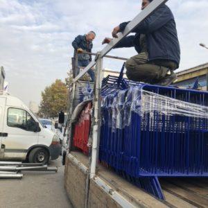 metal güvenlik bariyeri polis güvenlik barikatı demir bariyer güvenlik bariyeri demir güvenlik bariyeri toplumsal olayları engelleme demiri imalatı üretimi