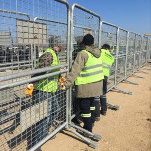 metal güvenlik bariyeri polis güvenlik barikatı demir bariyer güvenlik bariyeri demir güvenlik bariyeri toplumsal olayları engelleme demiri imalatı edirne