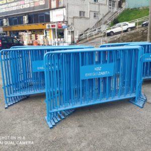 metal güvenlik bariyeri zabıta güvenlik barikatı demir bariyer güvenlik bariyeri demir güvenlik bariyeri toplumsal olayları engelleme demiri üretimi kdz ereğli belediyesi