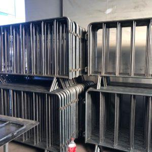 zabıta bariyeri metal güvenlik bariyeri demir güvenlik bariyer trafik ürünleri trafik malzemeleri polis bariyeri üretimi imalatı demir bariyer metal bariyer 2 metre
