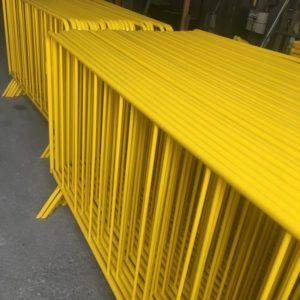 zabıta bariyeri sarı metal güvenlik bariyeri demir güvenlik bariyer trafik ürünleri trafik malzemeleri ilgi trafik sistemleri polis bariyeri imalatı ankara