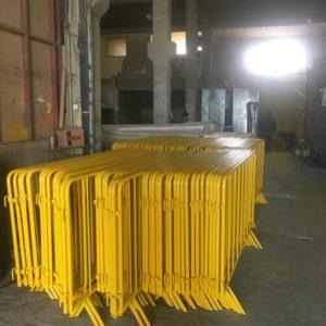 zabıta bariyeri sarı metal güvenlik bariyeri demir güvenlik bariyer trafik ürünleri trafik malzemeleri ilgi trafik sistemleri polis bariyeri imalatı fiyatı