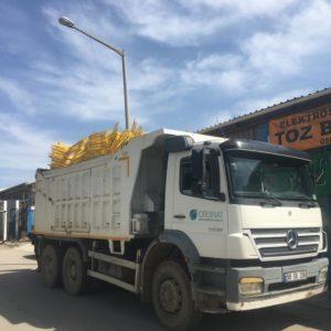 metal güvenlik bariyeri demir bariyer trafik ürünleri trafik malzemeleri sarı zabıta bariyeri polis bariyeri fiyatı imalatı üretimi
