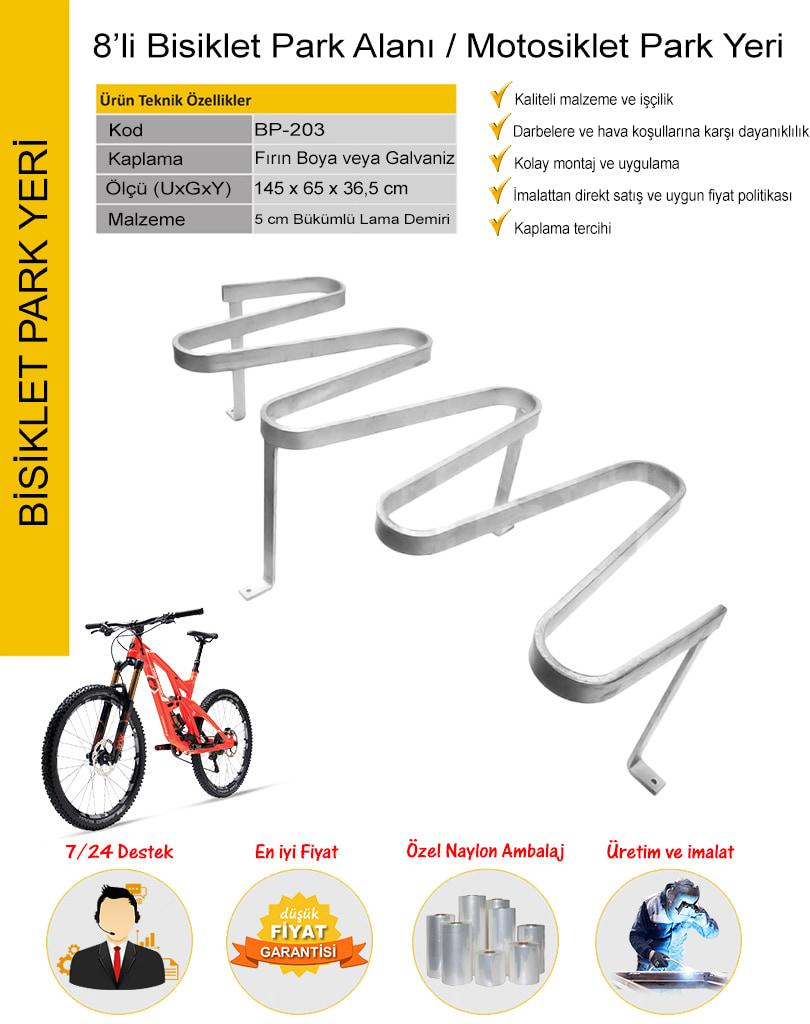 bisiklet park yeri fiyatları
