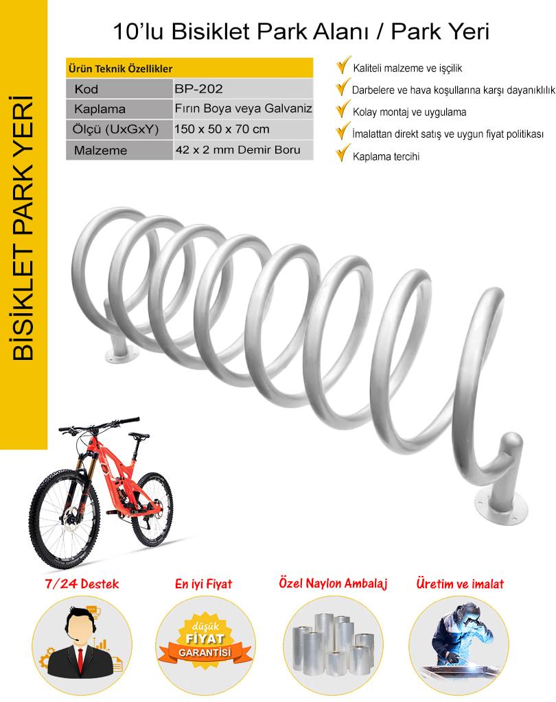 bisiklet parkı 10 lu