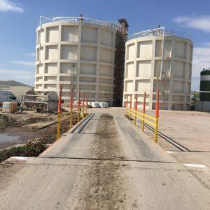 kantar sistemleri kantar bariyeri tır baskülleri tır kantarları kamyon baskül kenar koruma demirleri uyarı delinatörü imalatı üretimi ankara