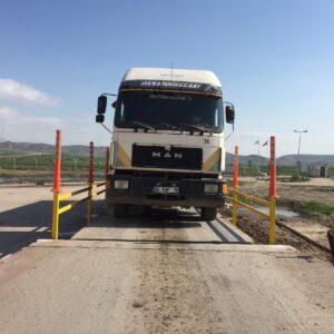 kantar sistemleri kantar bariyeri tır baskülleri tır kantarları kamyon baskül kenar koruma demirleri uyarı delinatörü imalatı ve üretimi