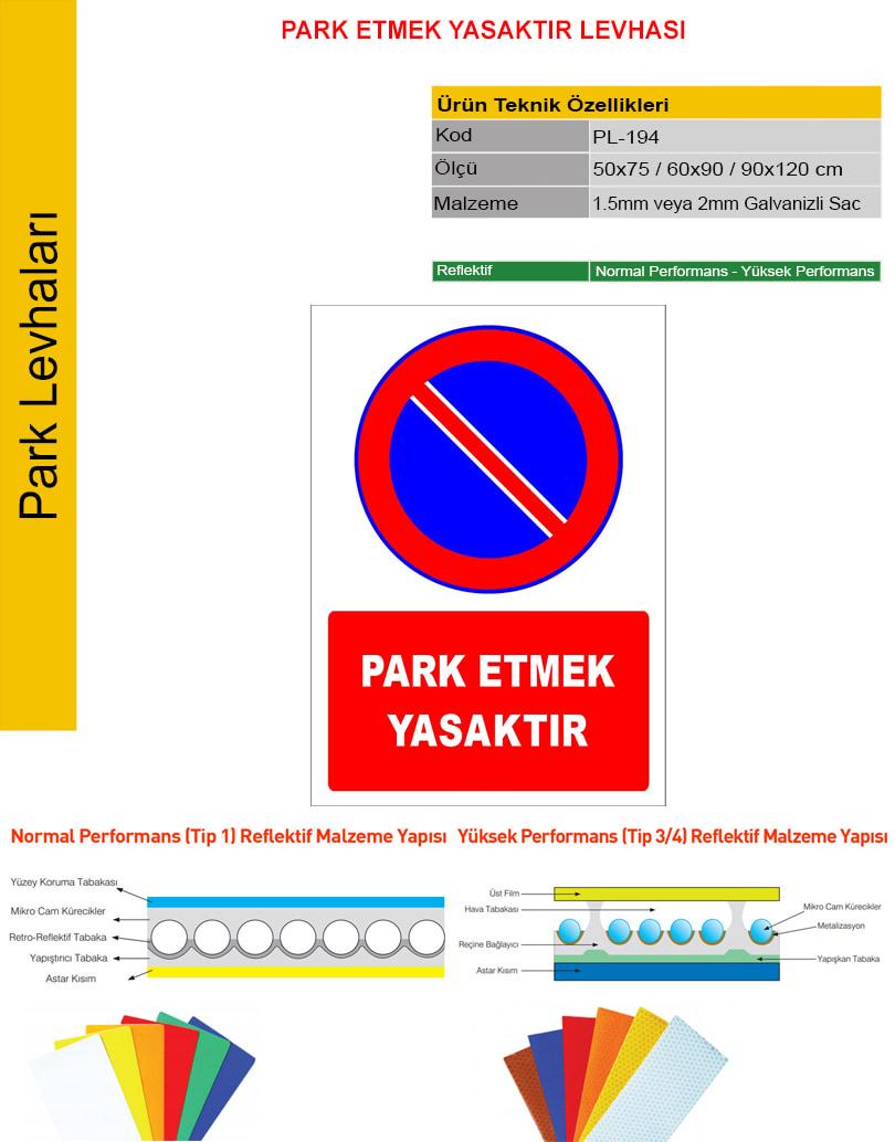 araç park etmek yasaktır