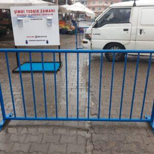 polis bariyeri metal güvenlik bariyeri demir güvenlik bariyer trafik ürünleri trafik malzemeleri ilgi trafik sistemleri zabıta bariyeri imalatı üretimi fiyatı ankara