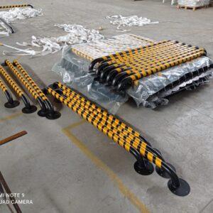 araç stoperi otopark araç stoperi birim fiyat boru tip araç park stoperi otopark araç stoperi fiyatları araç sonlandırma bariyeri imalatı üretimi ilgi trafik sistemleri