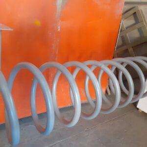 bisiklet park yeri bisiklet parkı 10 lu bisiklet park demiri bisiklet koyma yeri bisikletlik gri apartman bisiklet park yeri demirleri spiral park alanı imalatı gri