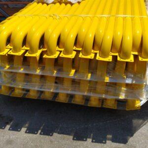 otopark stoperi otopark araç stoperi stoper bariyer sistemi araç sonlandırma bariyeri teker yaslama bariyeri direği imalatı üretimi lastik bariyeri 180 cm otopark bariyeri