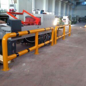 yüksek kolon koruma bariyeri kolon koruma demiri yüksek araç stoperi fabrika koruma kolon koruyucu metal güvenlik bariyeri imalatı ankara