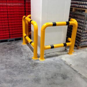 yüksek kolon koruma bariyeri kolon koruma demiri yüksek stoper fabrika koruma kolon koruyucu metal güvenlik bariyeri üretimi imalatı ankara