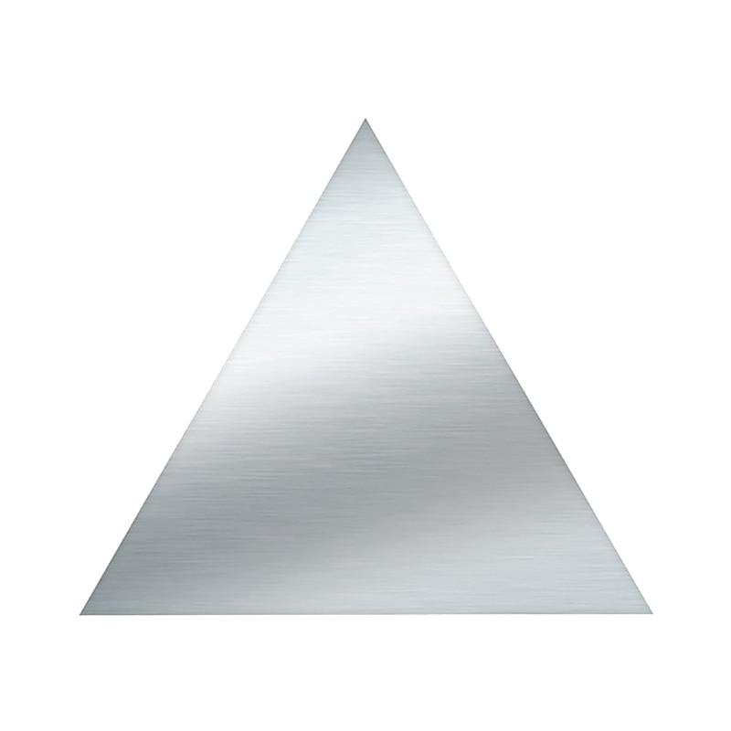 boş üçgen trafik levhası