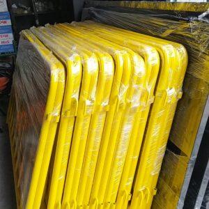 metal güvenlik bariyeri demir bariyer trafik ürünleri trafik malzemeleri sarı zabıta bariyeri polis bariyeri toptan imalatı üretimi ilgi trafik sistemleri