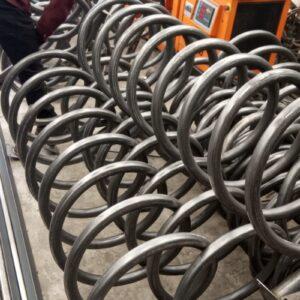 10 lu bisiklet park yeri bisiklet parkı 10 lu bisiklet park demiri bisiklet koyma yeri bisikletlik apartman bisiklet park yeri demirleri spiral bisiklet park alanı imalatı