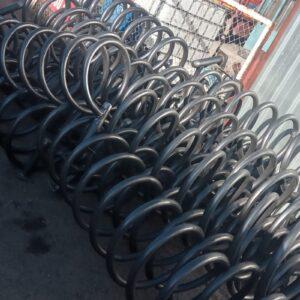 10 lu bisiklet park yeri bisiklet parkı 10 lu bisiklet park demiri bisiklet koyma yeri bisikletlik apartman bisiklet park yeri demirleri spiral bisiklet park alanı üretimi