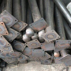 demir araç bariyeri kaldırım dubası metal duba metal delinatör sabit bariyer metal bariyer metal otopark bariyeri demir duba sabit demir duba demir delinatör kaldırım demir duba imalatı