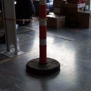 dikme duba uyarı dikmesi dubalı uyarı dikmesi dubalı uyarı dikmesi fiyatları plastik trafik uyarı dikme bariyeri reflektörlü kauçuk tabanlı uyarı dikmesi evelux imalatı 12420 db r