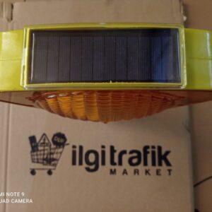 flaşör lamba kırmızı solar ledli güneş enerjili trafik lamba fiyatı solar flaşör uyarıcı sarı flaşör lamba power ledli ucuz ikaz lambası domuz kovucu ilgi trafik flaşör üretimi