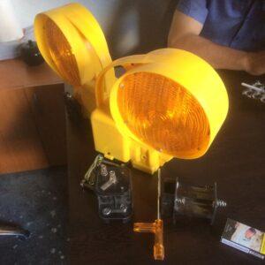 flaşör lamba sarı solar ledli güneş enerjili trafik lamba fiyatı solar flaşör uyarıcı yuvarlak sarı flaşör lamba power ledli ucuz ikaz lambası domuz kovucu ışık flaşör imalatı üretimi ilgi trafik