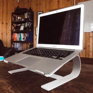 laptop koyma standı laptop stand laptop standı metal laptop yükseltici laptop yükseltme aparatı laptop yükseltici ayak imalatı üretimi ankara