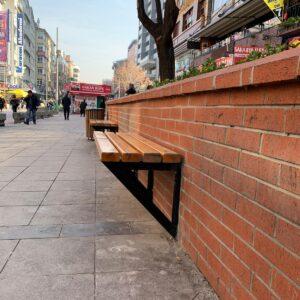 oturma bankı park bankları tahta oturma bankı park bahçe bankı sokak bankı sırtlı bank modeli ahşap bank belediye bank dış mekan oturma bankları üretimi ilgi trafik