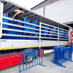 polis bariyeri metal güvenlik bariyeri demir bariyer trafik ürünleri trafik malzemeleri mavi zabıta bariyeri toptan imalatı üretimi ilgi trafik sistemleri zabıta barikatı 2 metre