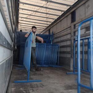 polis bariyeri metal güvenlik bariyeri demir bariyer trafik ürünleri trafik malzemeleri mavi zabıta bariyeri toptan imalatı üretimi ilgi trafik sistemleri zabıta barikatı toptan fiyat