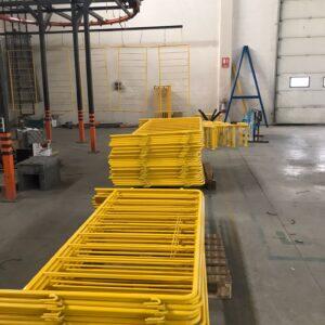 metal güvenlik bariyeri metal bariyer zabıta bariyeri demir güvenlik bariyer polis bariyeri demir bariyer üretimi imalatı trafik ürünleri trafik malzemeleri